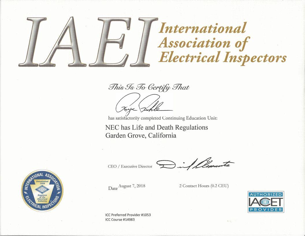 Certifications Ceus No Fix No Pay